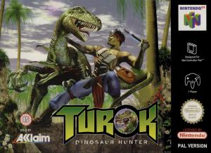 Jaquette de Turok : Dinosaur Hunter sur N64